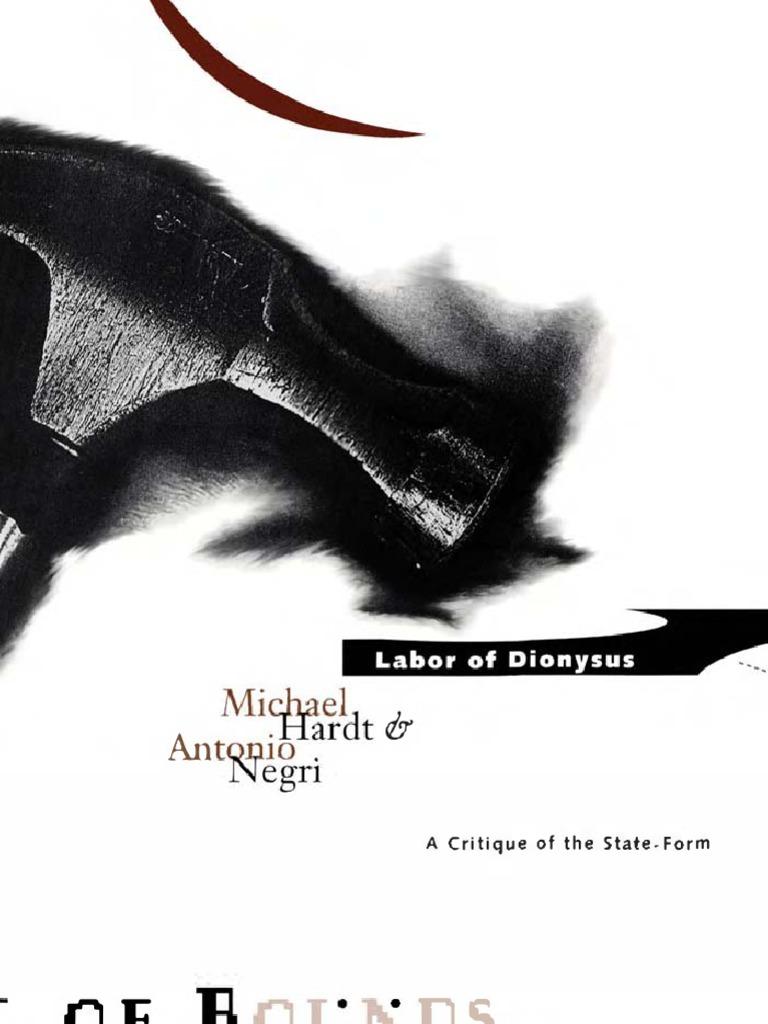 Michael Hardt and Antonio Negri Labor