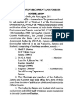 Moef Notification-Constitution of SEIAAA for J&K.pdf