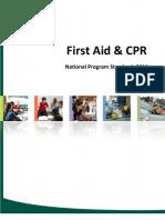 Canadian Red Cross Program Standards (Updated 2012)