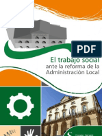El Trabajo Social ante la Reforma de la Adminsitración Local