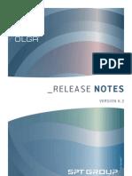 OLGA 6.2 Release Note