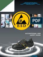 ESD shoes catalogue