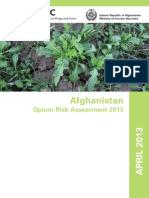Afghan Opium 2013 Report