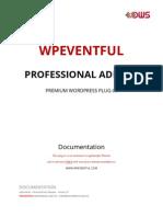 Documentation WpEventful Professional Add-On