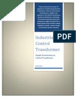 control transformer pdf