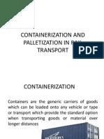 Containerization in Rail