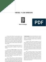 Heidegger, Hegel y Los Griegos