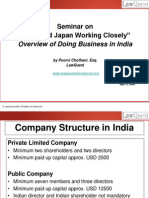 Overview of Doing Business in India - 2008