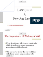 The Importance of Making a Will