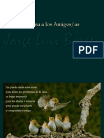 Borges. Poema a Los Amigos