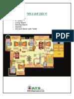 ats paradiso floor plans