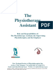 The Physiotherapist Assistant NZSP Ratified 05