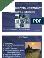 Considerente Privind Utilizarea Mixturilor Asfaltice Cu Modul Ridicat La Straturi Rutiere Final [Co