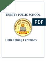 Oath Taking Ceremony