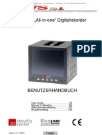 "Manual / MJPEG ""All-in-one"" Digitalrekorder mit eingebautem 8"" TFT Display"
