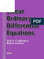 Coddington, E. Carlson, R. - Linear Ordinary Differential Equations(1)