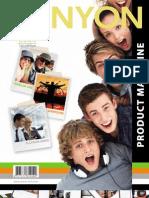 Canyon Product Magazine 2009