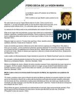 Zonadefe.org-lo Que Martin Lutero Decia de La Vigen Maria