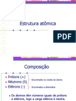 Estrutura Atomica e Tabela Periodica