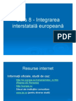 Integrare Europeana