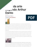 O Fim Da Arte Segundo Arthur Danto