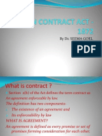 Indian Contract Act -1872