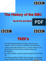 The History of the BBC