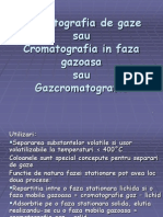 Cromatografia de Gaze
