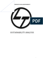 L Amp T Sustainability Analysis Report