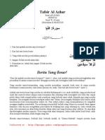 Tafsir Al Azhar Surah An Naba