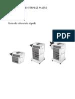 Guia Rapida Print M4555 MFP