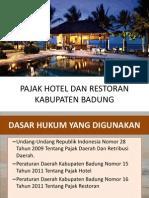 Pajak Hotel Dan Restoran