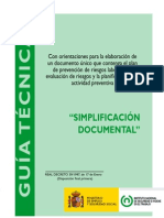 Guia Simpl if Icac i on Documental