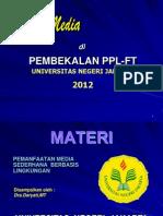 Materi Dra. Daryati, MT (Media Pembelajaran Untuk PPL)