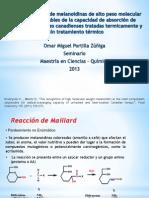 Reconocimiento de Melanoidinas de Alto Peso Molecular Como