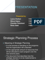 Strategic Planning Process and Dairy Pak Case Study
