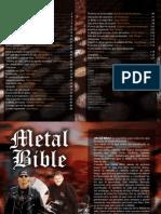 metal biblia español