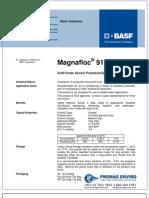 Chemicals Zetag DATA Powder Magnafloc 919 - 0410