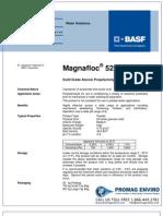 Chemicals Zetag DATA Powder Magnafloc 5250 - 0410