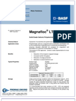 Chemicals Zetag DATA Powder Magnafloc LT 22 S - 0410