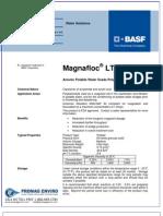 Chemicals Zetag DATA Powder Magnafloc LT 27 AG - 0410