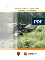 Dam Removal and Historic Preservation