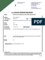 anti HIV I p24 MAb 2 data sheet