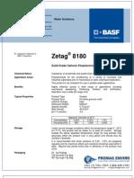Chemicals Zetag DATA Powder Zetag 8180 - 0410
