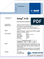 Chemicals Zetag DATA Powder Zetag 4120 - 1110