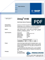 Chemicals Zetag DATA Powder Zetag 8190 - 0410