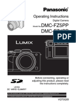 Panasonic Lumix FZ5 User Manual