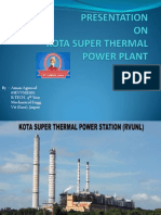 kota Super Thermal Power Station training ppt