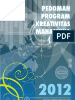 Panduan PKM 2012