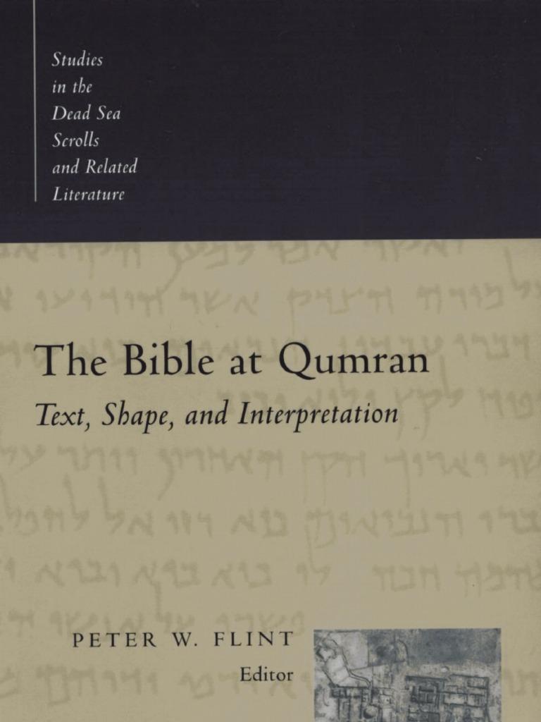 Flint the bible at qumranpdf biblical canon bible fandeluxe Images